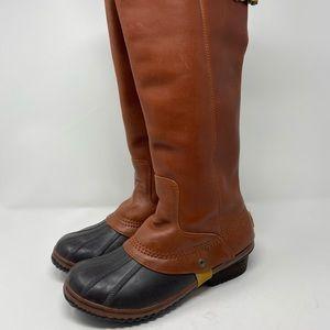 Sorel slimpack womens equestrian riding boots 10.5